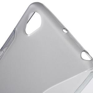 S-line gélový obal pre mobil Sony Xperia X Performance - sivý - 5