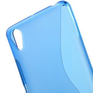 S-line gelový obal na mobil Sony Xperia X Performance - modrý - 5