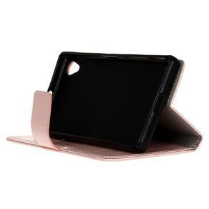 Horse Peňaženkové puzdro pre Sony Xperia X Performance - ružové - 5