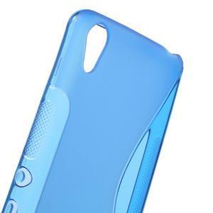 S-line gélový obal pre mobil Sony Xperia XA - modrý - 5