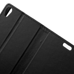 Cardy puzdro pre mobil Sony Xperia XA - čierne - 5