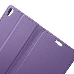 Cardy puzdro pre mobil Sony Xperia XA - fialové - 5