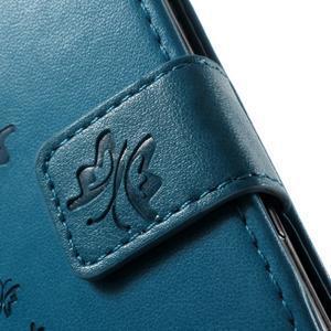 Butterfly puzdro pre mobil Sony Xperia XA - modré - 5