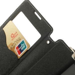 Okýnkové pouzdro na mobil Sony Xperia Z1 Compact - bílé - 5