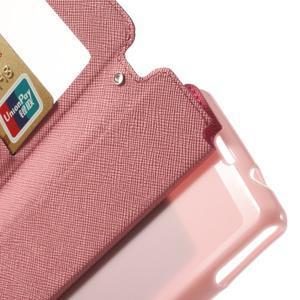 Okýnkové pouzdro na mobil Sony Xperia Z1 Compact - rose - 5