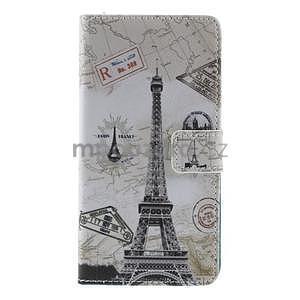 Stylové peněženkové pouzdro na Sony Xperia Z2 - Eiffelova věž - 5