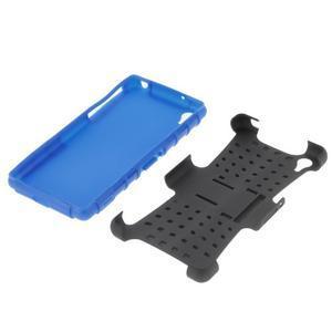 Outdoor odolný kryt pre mobil Sony Xperia Z2 - modrý - 5