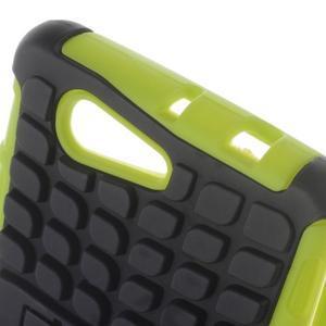 Odolný ochranný kryt pre Sony Xperia Z3 Compact - zelený - 5