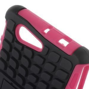 Odolný ochranný kryt pre Sony Xperia Z3 Compact - rose - 5