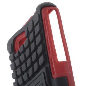 Odolný ochranný kryt pre Sony Xperia Z3 Compact - červený - 5