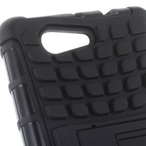 Odolný ochranný kryt pre Sony Xperia Z3 Compact - čierny - 5