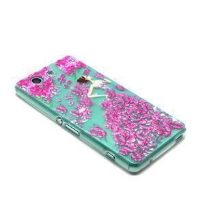 Gelový obal na mobil Sony Xperia Z3 Compact - motýlí dívka - 5