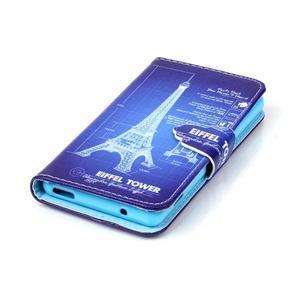 Emotive knížkové puzdro pre Sony Xperia Z3 Compact - Eiffelova veža - 5