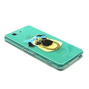 Gelový obal na mobil Sony Xperia Z3 Compact - mops - 5