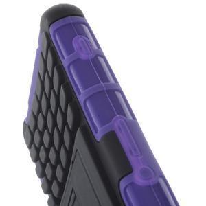 Odolný ochranný kryt pre Sony Xperia Z3 Compact - fialový - 5