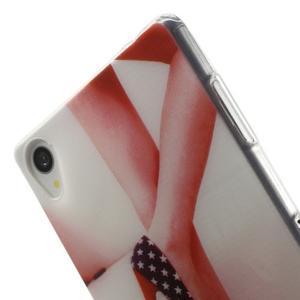 Ultratenký gelový obal na mobil Sony Xperia Z3 - US střevíčky - 5