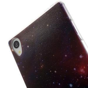 Ultratenký gélový obal pre mobil Sony Xperia Z3 - galaxie - 5