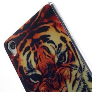 Gelový obal na mobil Sony Xperia Z3 - tygr - 5