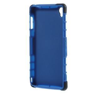 Outdoor ochranný kryt na mobil Sony Xperia Z3 - modrý - 5