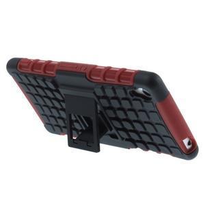Outdoor ochranný kryt na mobil Sony Xperia Z3 - červený - 5
