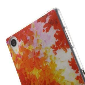 Ultratenký gelový obal na mobil Sony Xperia Z3 - podzim - 5