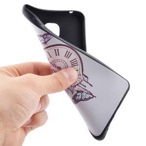 Terry gelový obal na Samsung Galaxy A3 (2016) - antické hodiny - 5