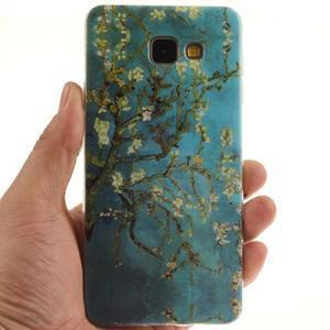 Silk gélový kryt pre mobil Samsung Galaxy A3 (2016) - rozkvetlý strom - 5