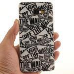 Silk gelový kryt na mobil Samsung Galaxy A3 (2016) - slova - 5/6