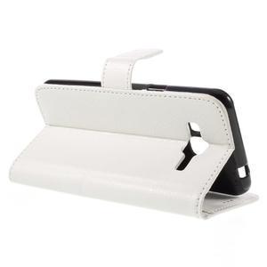 Peňaženkové puzdro pre mobil Samsung Galaxy J3  (2016) - biele - 5