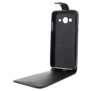 Flipové pouzdro na mobil Samsung Galaxy J3 (2016) - černé - 5