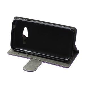 Wall peňaženkové puzdro pre Samsung Galaxy Trend 2 Lite - fialové - 5