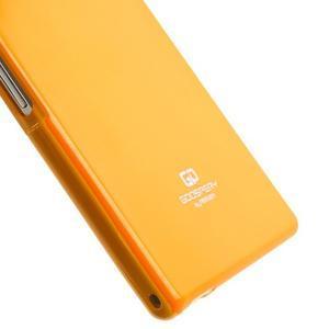 JellyGospery gélový obal pre mobil Sony Xperia Z Ultra - žltý - 5