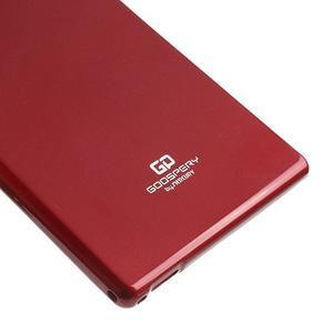 JellyGospery gélový obal pre mobil Sony Xperia Z Ultra - vínový - 5