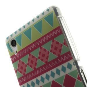 Emotive gelový obal na Sony Xperia Z2 - geo tvary - 5