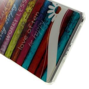 Emotive gelový obal na Sony Xperia Z2 - barvy dřeva - 5