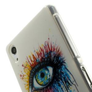 Emotive gélový obal pre Sony Xperia Z2 - farebné oko - 5