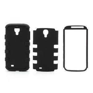 Extreme odolný gélový obal 2v1 pre Samsung Galaxy S4 - čierný - 5