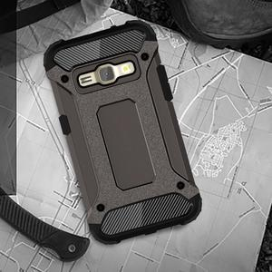 Armory odolný obal pre mobil Samsung Galaxy J1 (2016) - bronze - 5