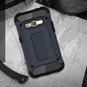 Armory odolný obal pre mobil Samsung Galaxy J1 (2016) - tmavomodrý - 5