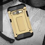 Armory odolný obal pre mobil Samsung Galaxy J1 (2016) - zlatý - 5/7