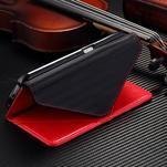 Breck peňaženkové puzdro na Samsung Galaxy S6 - červené/čierné - 5/5