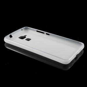 Matný gélový obal pre mobil Honor 7 Lite - biely - 5