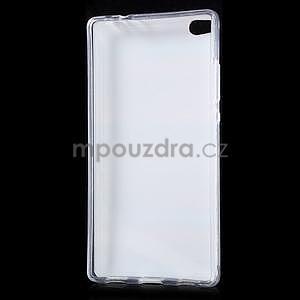 Gélový obal na Huawei Ascend P8 - farebné drevo - 5