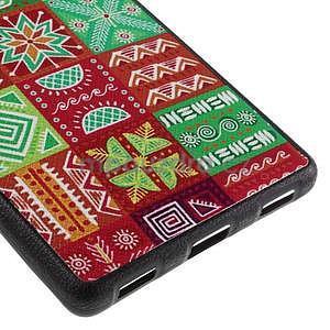 Gélový kryt s koženým chrbtom na Huawei Ascend P8 -  koláž - 5