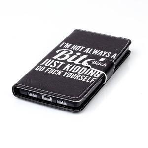 Puzdro na mobil Huawei P8 Lite - bitch - 5