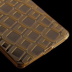 Square gelový obal na Huawei Mate 8 - zlatý - 5