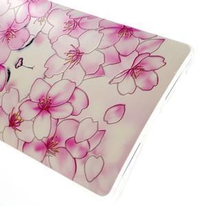 Softy gelový obal na mobil Huawei Mate 8 - kvetoucí švestka - 5