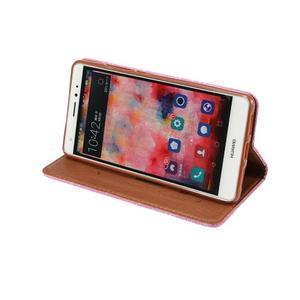 Style knížkové pouzdro na mobil Huawei Mate S - rose - 5