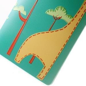 Softy gelový obal na mobil Huawei Mate S - žirafa - 5