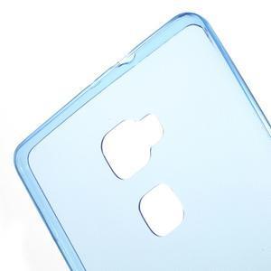 Ultratenký gelový obal na mobil Huawei Mate S - modrý - 5